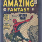 Amazing Fantasy #15 Comic Book CGC 4.5 Sold For $12,775