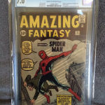 Amazing Fantasy #15 Comic Book Sold For $41,000