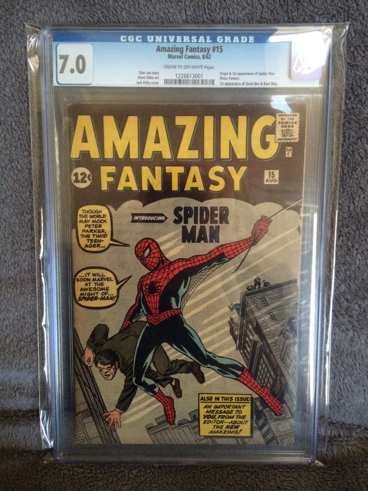 Amazing Fantasy 15 Comic Book Sold For 41 000 Comics