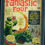 The Fantastic Four #1 Comic Book Graded CGC 7.0 Sold For $17,000