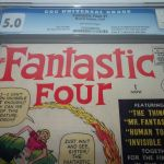 The Fantastic Four #1 Graded CGC 5.0 Sold For $7,500