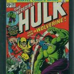 The Incredible Hulk #181 Graded CGC 9.8 Sold For $12,000