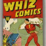 Whiz Comics #2 Graded CGC 9.2 Restored Sold For $13,000