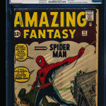 Amazing Fantasy #15 Graded CGC 3.5 Sold For $8,122.00