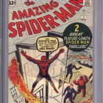Amazing Spider-Man #1 CGC 7.5 Sold For $12,999