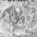 Death of Wolverine #1 Alex Ross Variant Sketch Cover