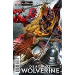 Death of Wolverine #1 Gamestop Powerup Rewards Cover
