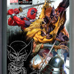 Death of Wolverine #1 Gamestop Variant Greg Horn Sketch