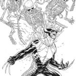 Death of Wolverine #1 Joe Quesada Variant Sketch Cover