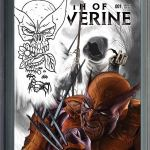Death of Wolverine #1 Salt Lake Comic Con Variant Greg Horn Sketch
