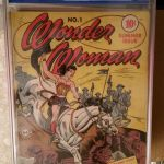 Wonder Woman #1 Graded CGC 2.5 Sold For $8,000.00
