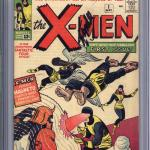 X-Men #1 Comic Book Graded CGC 7.0 Signed By Stan Lee Sold For $8,249.99