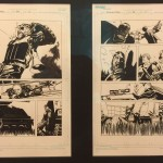 The Walking Dead #44 Original Art Pages 6 & 7