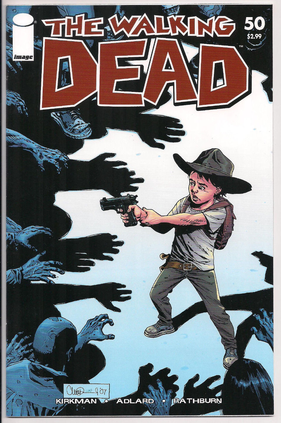 Where Is The Illustration On The Front Cover Of A Book ~ The walking dead comic book front cover u comics watcher