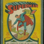 Superman #1 Graded CBCS 5.0