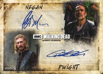 2018 Topps The Walking Dead Season 8 Part 1 Character Cards C-19 Dwight